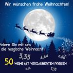 Magische Weihnachten bei Weinvorteil – verschiedene Weine ab 3,33€