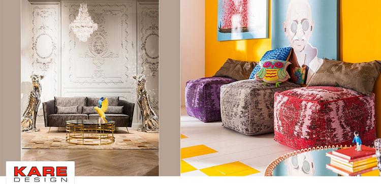 Kare Design Sale bei Vente Privee   z.B. LED Deckenleuchte Radiation ab 119,99€ (statt 179€)