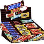 Mars Topsellerbox – Snickers, Twix, Mars, Bounty M&M's Peanut 72 Riegel für 26,99€ (stattt 35€)