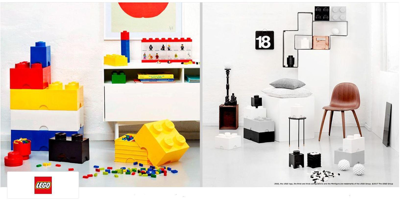 Lego Sale Zubehör bei vente privee   z.B. 3er Set Aufbewahrungsboxen ab 19€ (statt 27€)