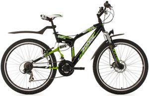 Zodiac Fully 21 Gang Herren Mountainbike mit 26 Zoll für 152,92€ (statt 217€)