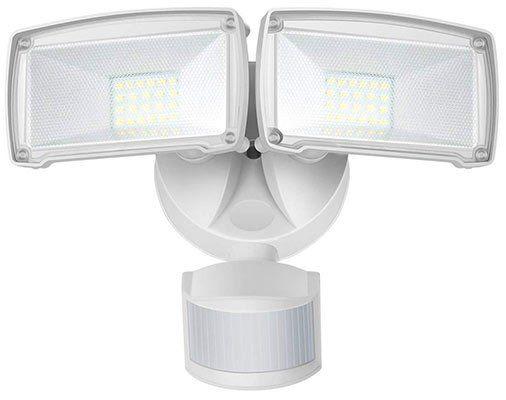 Duo 22W LED Außenstrahler mit Bewegungsmelder für 29,99€ (statt 50€)