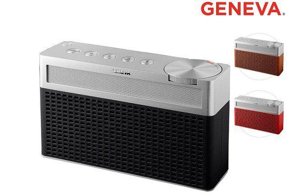 Geneva Touring S   Bluetooth Radio Lautsprecher (DAB+/FM) für 75,90€ (statt 154€)