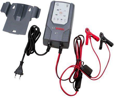 Bosch 018999907M Mikroprozessor Batterieladegerät C7 (12V und 24V) für 69,59€ (statt 86€)