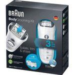 Braun BGK7050 BodyGrooming Kit mit Epilierer, Rasierer und Trimmer für 59,90€ (statt 107€)