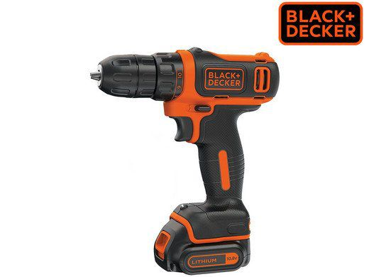 Black + Decker Compact 10,8 V Bohrmaschine (BDCDD12K DE) für 45,90€ (statt 55€)