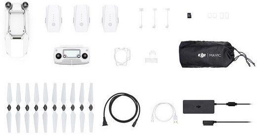 DJI Mavic Pro 4K Drohne   Fly More Combo inkl. 3 Akkus für 805,90€ (statt 989€)