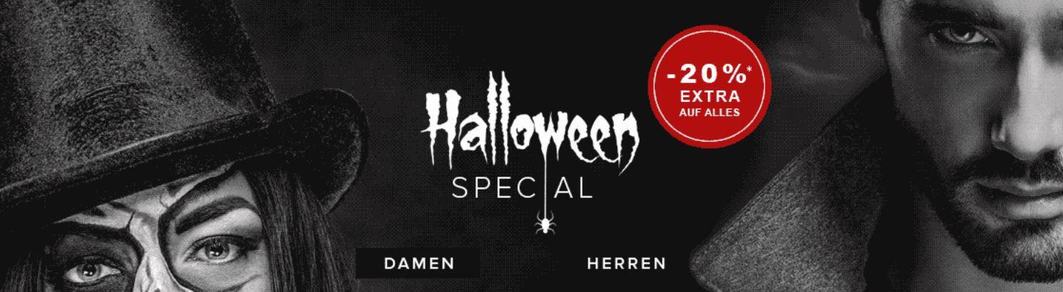 Bis Mitternacht: dress for less Halloween Special: bis 70% Rabatt auf viele Styles + 20% extra Rabatt   z.B. Tommy Hilfiger  Pullover für 49,99€ (statt 79€)