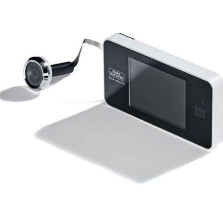 Burgwächter E Door eGuard DG 8100   Kamera Türspion für 47,45€ (statt 60€)