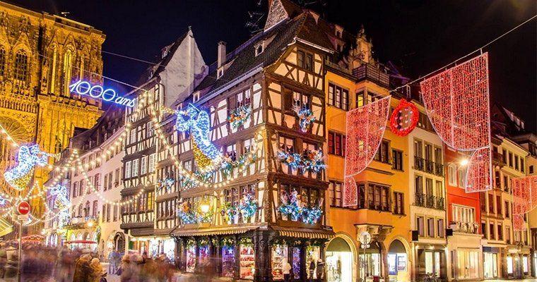 Weihnachtsmarkt in Straßburg: 1  2 ÜN auf einem Hotelschiff inkl. HP, Heißgetränke, Wellness & mehr ab 79€ p.P.