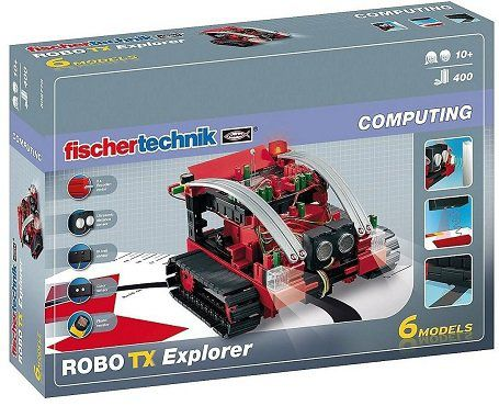 FISCHERTECHNIK 508778 Robo TX Explorer in Rot/Schwarz für 110€ (statt 123€)