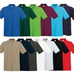 Fruit of the Loom Premium Herren Poloshirts im 4er Pack für 27,99€