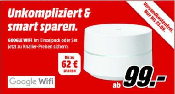 GOOGLE Wifi   Mesh fähige WLan Router ab 99€ (statt 119€)