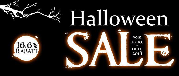 16,6% Rabatt im Halloween Sale + weitere 5% bei Vorkasse bei Koffer Direkt