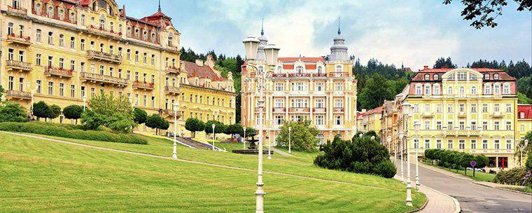 ÜN in einem 5* Villen Hotel in Marienbad (CZ) inkl. Frühstück, Sauna & mehr für 24,50€ p.P.