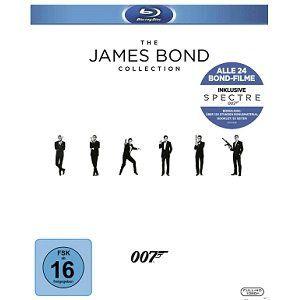 James Bond Collection 2016 auf 25 Blu rays für 79€ (statt 90€)