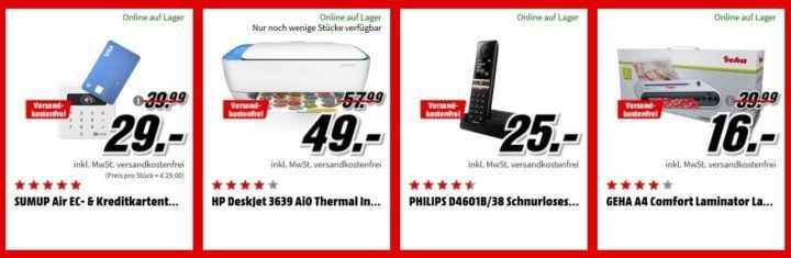 Media Markt Büro Tiefpreis Woche: heute viele Haustelefone   z.B. PHILIPS D4601B/38 Schnurloses Telefon für 25€ (statt 32€)