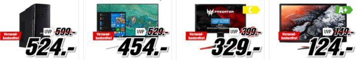 Media Markt Acer Tiefpreisspätschicht: z.B. ACER Windows Mixed Reality Headset für 199€ (statt 289€)