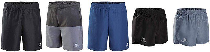 CAMEL Training Shorts für Herren & Damen in verschiedenen Ausführungen ab 6,60€   Prime