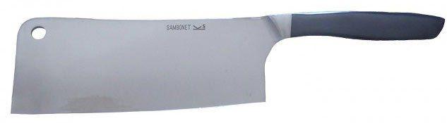 Sambonet P2 02.3 8003   Hackbeil aus Edelstahl mit 17cm Klinkenlänge für 8,89€ (statt 40€)