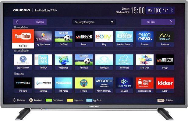 Grundig 32 6728   32 Full HD TV für 149€ (statt 269€)