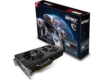 Sapphire Nitro+ Radeon RX 570 4GD5 Gaming Grafikkarte (AMD, 4GB, GDDR5, PCIe) für 125€ (statt 141€)