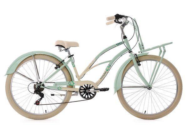 KS Cycling Beach Cruiser Cargo 26 Damenfahrrad für 189,25€ (statt 220€)