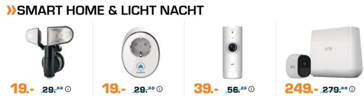 Saturn Late Night smart Home Aktion: Philips Hue White & Color 3 x E14 für 99€ (statt 144€)