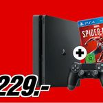 PlayStation 4 Slim 1TB + Spider-Man für 229€ (statt 267€)