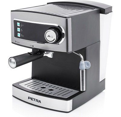 Petra KM 54.07 Espressomaschine (15 Bar) für 59,99€ (statt 95€)