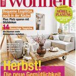 Zuhause wohnen Halbjahres Abo für 11,50€ (statt 21,50€) + 4 Schiefer Servierplatten +  Untersetzer – Top!