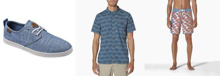 Reef Sale bei Vente Privee   Hemden, Shorts oder Sneaker ab 25,99€