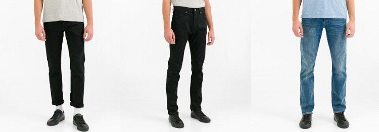Levis Made & Crafted Sale bei Vente Privee   z.B. Slim Fit Jeans Needle Kamogawa ab 49,99€ (statt 95€)