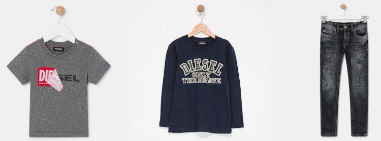 Diesel Kids Sale bei vente privee   z.B. Jeans schon ab 24,99€ oder Shirts ab 12,99€