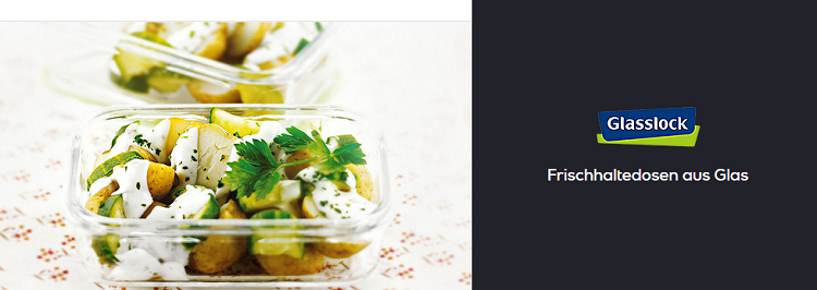 Glasslock Sale bei Vente Privee   z.B. 3er Set Frischhaltedosen aus Glas für 14,99€ (statt 33€)