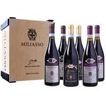Probierpaket Miliasso 'Selezione di Luigi Dezzani' mit 6 Flaschen Wein für 34,98€ (statt 70€)