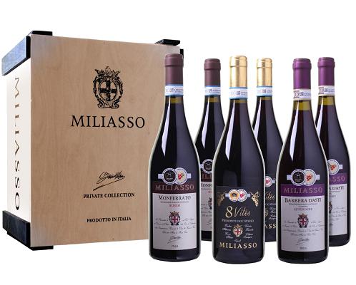 Probierpaket Miliasso Selezione di Luigi Dezzani mit 6 Flaschen Wein für 34,98€ (statt 70€)