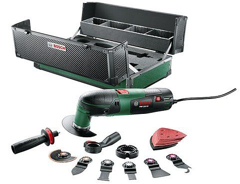 BOSCH PMF 220 CE Multifunktionswerkzeug Toolbox für 99,99€ (statt 155€)