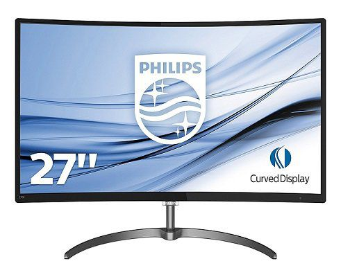 Philips E Line 278E8QJAB   27 Zoll Curved FullHD Monitor für 175€ (statt 198€)