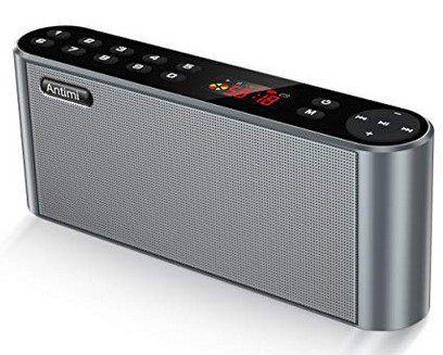 Antimi Bluetooth Lautsprecher mit Radiofunktion für 24,49€ (statt 35€)