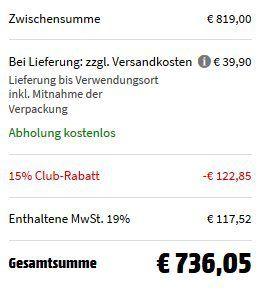 Bosch KGE58AI40 Kühlgefrierkombination aus Edelstahl für 736,05€ (statt 909€) + 90€ Eismann Gutschein