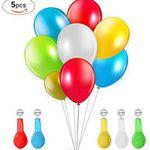 5 LED Luftballons für 2,70€ – Prime