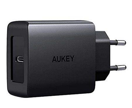 AAUKEY PA Y15   USB C 18W Ladegerät mit Power Delivery für 9,99€ (statt 16€)