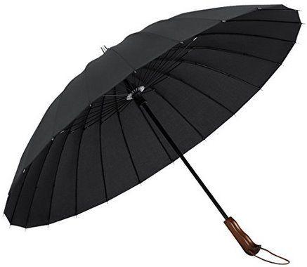 Plemo Regenschirm (98cm) mit 24 Streben für 14,99€ (statt 20€)