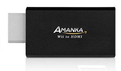 AMANKA Wii HDMI Konverter für 7,49€   Prime
