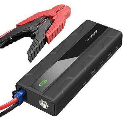 RavPower RP PB063   Starthilfe (14000mAh) mit 3 USB Ports für 48,99€ (statt 70€)