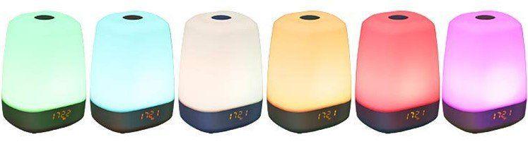 LED RGB Lichtwecker mit Sonnenaufgang Simulation für 20,99€ (statt 30€)