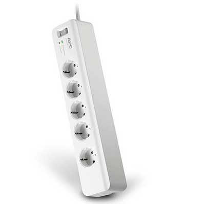 APC PM5 GR   5 fach Steckdosenleiste mit Überspannungsschutz für 9,99€ (satt 15€)