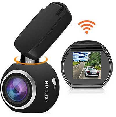 HQBKing Q1   1080p Dashcam mit 360° & WLAN für 48,99€ (statt 70€)