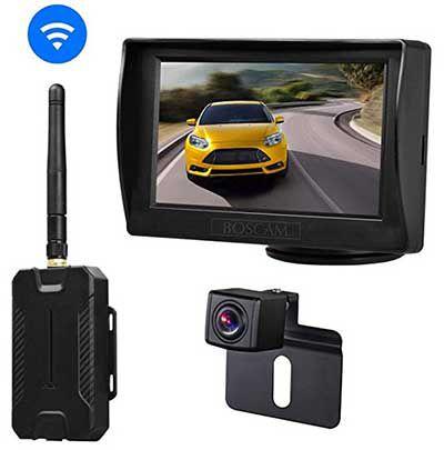 Boscam RVS KK1   Kabellose Rückfahrkamera & Monitor für 49,69€ (statt 71€)